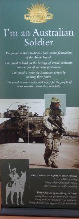I am an Australian soldier
