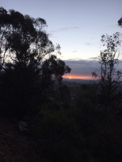 sunrise 25.7.18
