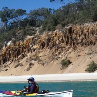 Jan and cliffs