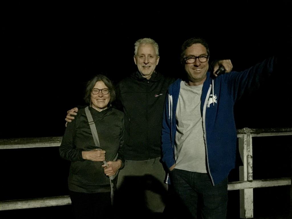 night shot on the pier